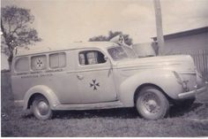 1939 Ford ambulance for the Kempsey district in northern New South Wales.Photo from Mick Taylor,ambulance officer in Forbes.A♥W