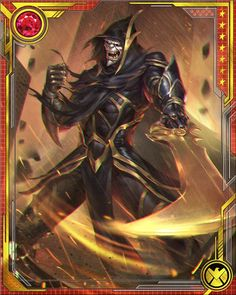 However deadly his weapon is, it's Corvus Glaive's unmitigated delight in bloodshed that makes him the first and most feared among Thanos's Black Order.