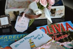 Three Pixie Lane: A Travel Themed Baby Shower - Oh Baby! The Places You'll Go!