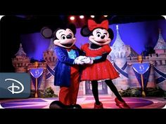 Behind-the-scenes look at nighttime entertainment for Disneyland's Diamond Celebration!