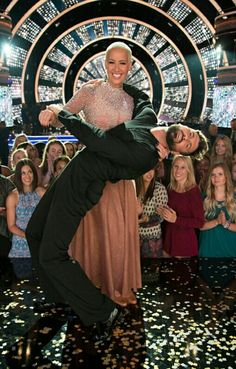 Amber and Maksim Dancing with the stars season 23