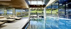 Pinzgauer Wasserfestspiele im Hotel Riederalm Spa, Outdoor Decor, Interiordesign, Austria, Home Decor, Fine Dining, Kaprun, Underground Garage, Project Management