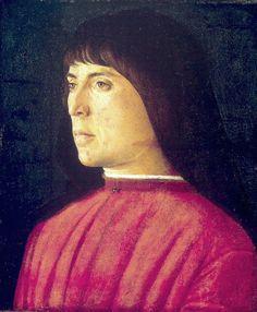 Venice, The Republic of Venice Giovanni Bellini:  Portrait of a Young Man