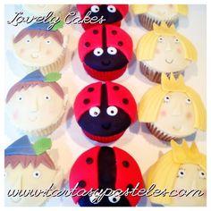 Cupcakes Ben, Holly y Gaston