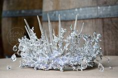 Adult Snow Queen Crown - Frozen - cosplay - photoshoot - fantasy - pageant.