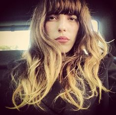 Lou doillon hair