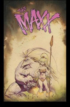 ryallsfiles:  New covers for The Maxx: Maxximized #1-9 by Sam Kieth