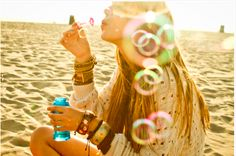 beach + bubbles = beautiful