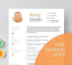 Business Resume  Cover Letter Template Microsoft By Templatepro