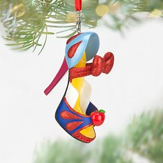 Snow White Shoe Ornament