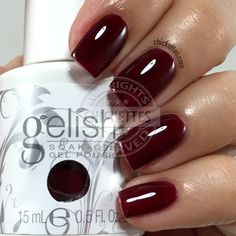 Gelish Red Matters - Red Alert - Chickettes.com