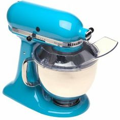 KitchenAid Crystal Blue Mixer