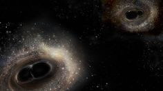 Gravity waves, the sequel. LIGO detects second pair of crashing black holes - Artist's rendition of the two colliding binary black hole systems detected by the Laser Interferometer Gravitational-Wave Observatory (LIGO) Photo by LIGO/A. Gravity Waves, Solar Mass, Gravitational Waves, Neutron Star, Universe Today, Dark Energy, Energy Star, Whirlpool Galaxy, Astronomy