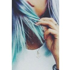 this is actually really pretty - Looking for Hair Extensions to refresh your hair look instantly? KINGHAIR® only focus on premium quality remy clip in hair. Visit - - for more details Onbre Hair, Dye My Hair, Her Hair, Messy Hair, Pastel Hair, Purple Hair, Pastel Blue, Turquoise Hair, Medium Hair Styles