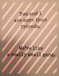 To my people, you know who you are! ;)