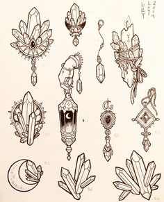 🌟New Tattoo Flash for sale tomorrow! How To Draw Anything, Mushroom Drawing, Wiccan Art, Wiccan Tattoos, Tattoo Flash Art, Tattoo Outline, Cute Doodles, Book Of Shadows, Tattoo Sketches
