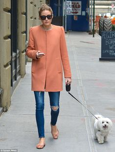 Brand loyalty: The socialite spoke fondly of high street store Zara, where she purchased the eye-catching coat, enthusing, Everything in Zara is fabulous!
