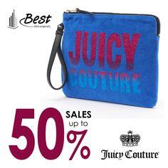 Τσαντάκι Χειρός Βελουτέ Juicy Couture