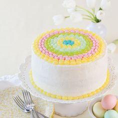Lemon-Jelly Bean Cake