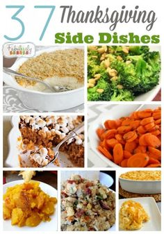 37 Thanksgiving Side Dishes