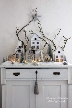 Creative ideas For your Christmas decoration Creative ideas House . - Creative ideas For your Christmas decoration Creative ideas House … – – # - Woodland Christmas, Noel Christmas, Little Christmas, All Things Christmas, Christmas Crafts, Christmas Decorations, Xmas, Holiday Decor, Driving Home For Christmas