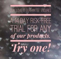 Love it or get your money back, no questions asked!  https://www.youniqueproducts.com/StellaGolding/business