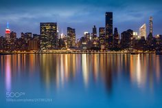Blue Hour Midtown Manhattan by RichWilliams