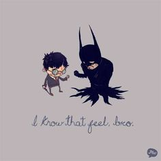 batman and potter