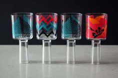A Wine Glass and Shot Glass in One - Brit & Co. - Living