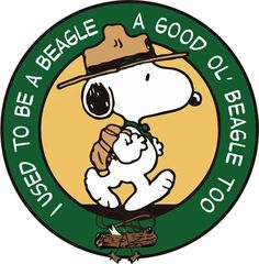 I used to be a beagle . a good ol' beagle too Snoopy Beagle, Camp Snoopy, Snoopy Love, Charlie Brown And Snoopy, Beagle Puppy, Snoopy And Woodstock, Cub Scouts, Girl Scouts, Peanuts Cartoon