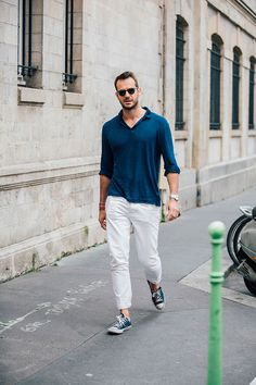 Street looks homme à Paris