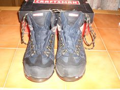 Sears Craftsman HAWK Steel Toed Hiking Boots in original box (EUC) #SearsCraftman #HikingTrail