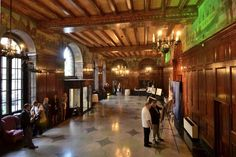 Columbia Development announced that they will renovate the former DeWitt Clinton Hotel, lobby shown here, to a Renaissance Luxury Hotel. (Mike McMahon / The Record) Hotel Lobby, Renaissance, Columbia, Wedding Venues, Luxury, Top, Wedding Reception Venues, Wedding Places, Colombia