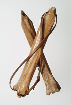 """sixpenceee:  """"Ice Skates Made Out of Bones: In 1173 William FitzStephen described how Londoners went skating on polished bone skates like this when the marsh known as the Moor, or Moorfields, on the north of the city froze in winter.  """""""