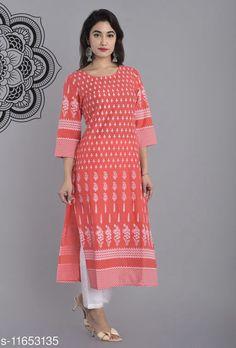Kurtis & Kurtas Women's Printed Cotton Kurti Fabric: Cotton Sleeve Length: Three-Quarter Sleeves Pattern: Printed Combo of: Single Sizes: S (Bust Size: 36 in, Size Length: 46 in)  XL (Bust Size: 42 in, Size Length: 46 in)  4XL (Bust Size: 48 in, Size Length: 46 in)  L (Bust Size: 40 in, Size Length: 46 in)  M (Bust Size: 38 in, Size Length: 46 in)  XXL (Bust Size: 44 in, Size Length: 46 in)  XXXL (Bust Size: 46 in, Size Length: 46 in)  Country of Origin: India Sizes Available: S, M, L, XL, XXL, XXXL, 4XL   Catalog Rating: ★4 (466)  Catalog Name: Aakarsha Drishya Kurtis CatalogID_2200030 C74-SC1001 Code: 793-11653135-9951