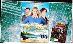Win A Ticket Of Return To Nim's Island In Cinema. Nims Island, Win Tickets, Rock Concert, Cinema, Baseball Cards, Fun, Movies, Movie Theater, Hilarious