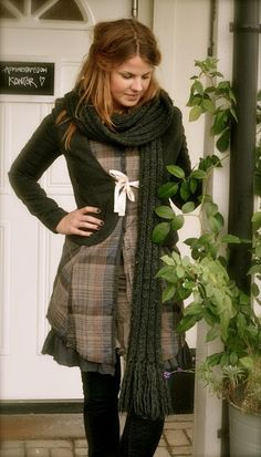 Dorothea. Ideia de customização de casaco com  laço...