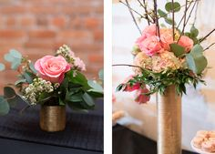 Flowers for Utah Fashion Week kickoff Party by Native Flower Company.