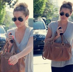 what I look like literally when I go to class most of the time... we have the same style in designer bags.