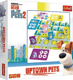 Gra Uptown Pets Trefl Chloe, Games, Pets, Products, Toys, Beauty Products, Game