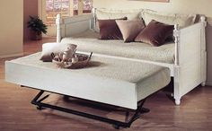 Buy Low Price Alligator Enterprise French Twin Daybed w Ornamental Carved Wood Headboard & Footboard (all-I1128)