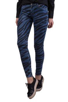 dda05a416d145 HUDSON Jeans Size 26 Stretch Zebra Pattern Super Skinny Made in USA RRP 239   fashion