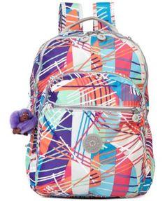 Kipling Handbag, Seoul Print Backpack