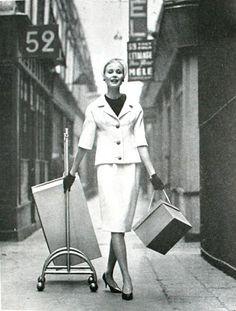 Guy Laroche, Elegance (Dutch) April 1960 Guy Laroche, Pierre Cardin, Dutch, Photo And Video, Elegant, 1960s, Vintage, December, Fashion Styles