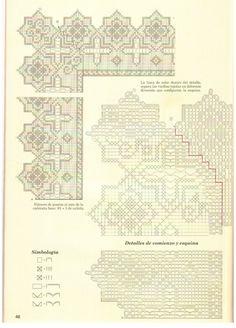 View album on Yandex. Filet Crochet, Catholic Altar, Altar Cloth, Crochet Curtains, Cross Stitch Borders, Crochet Books, Stitch 2, Views Album, Doilies