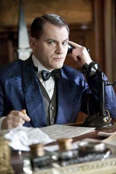 Boardwalk Empire's Michael Stuhlbarg as Arnold Rothstein, one of America's most fascinating gangsters