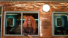 Hairdresser Chelsea De Main dubs caravan salon Fancy Nancy to take her services to festivals | HeraldSun
