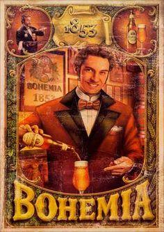 12140 - CERVEJA - BOHEMIA 1853 - Poster - 29x41.
