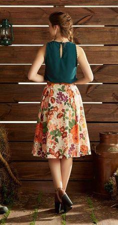 Uau!!  esse look é de arrasar ? Sim ou não ?   Procurando Saias? Aqui uma seleção linda nessa loja na Dafiti  http://imaginariodamulher.com.br/look/?go=1RmtsM5