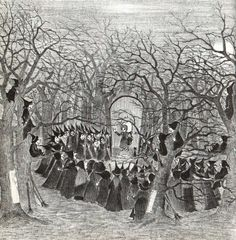 Witches gathering